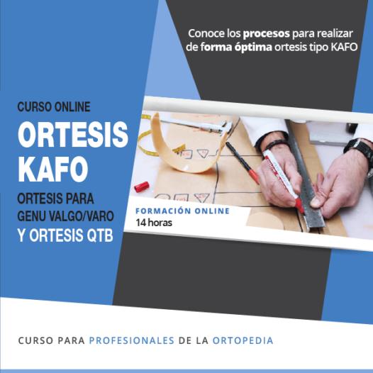 Ortesis KAFO: Ortesis para genu-valgo/varo y ortesis QTB.