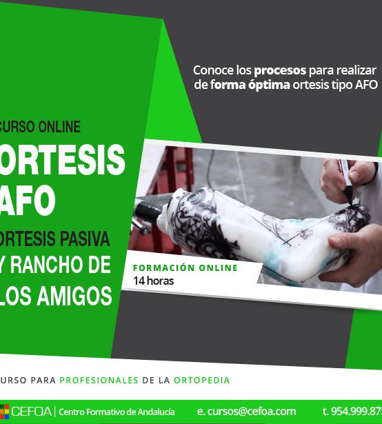 Ortesis AFO: ortesis pasiva y rancho de los amigos