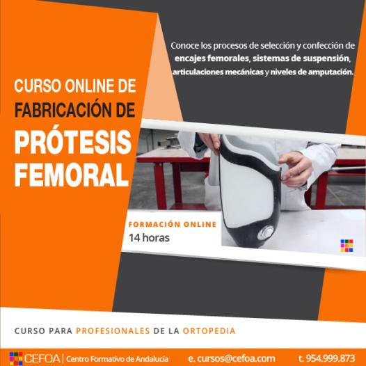 Fabricación de prótesis femorales.