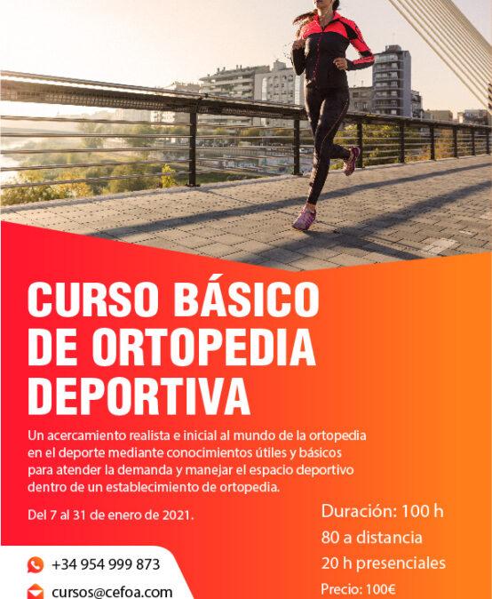 Curso Básico de Ortopedia Deportiva.