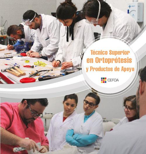 Ciclo Técnico Superior en Ortoprótesis y Productos de Apoyo