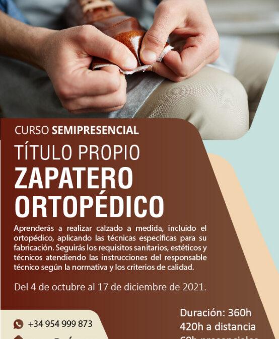 Título Propio de Zapatero Ortopédico
